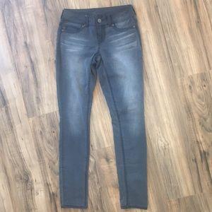 Maurice's Dark Gray Skinny Jeans
